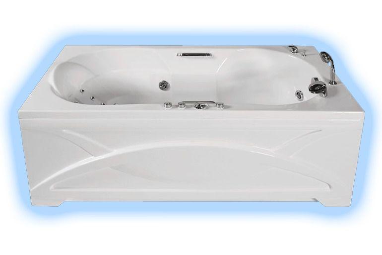Ванна лагуна экран